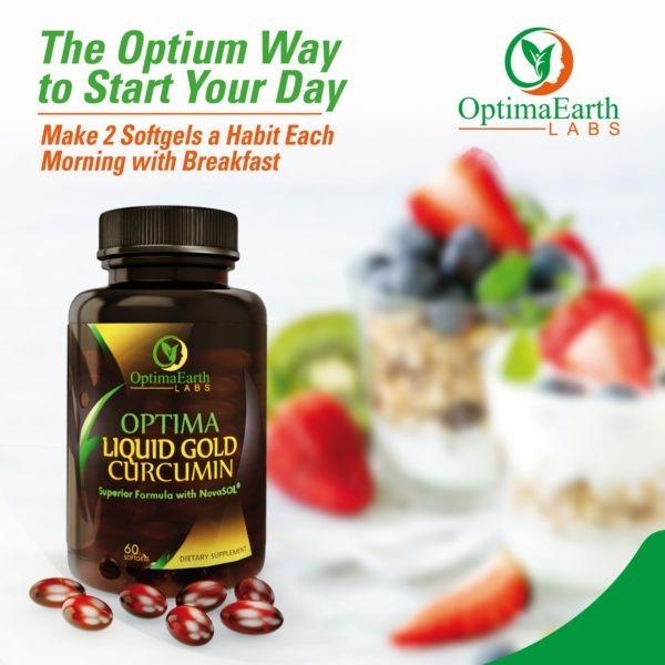 Buy OptimaEarth Labs Novasol Curcumin