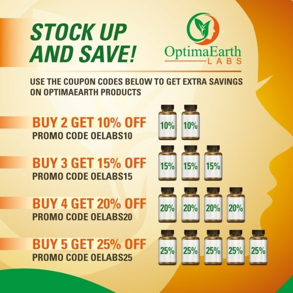 Optima Earth Labs Stock up and Save